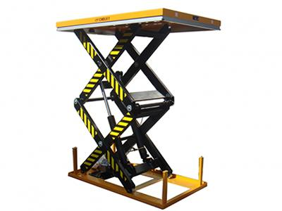 Dual Scissor Lift Table