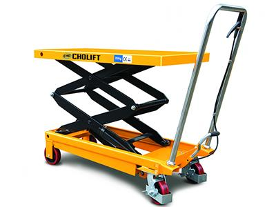 Dual Scissor Lift Table Cart