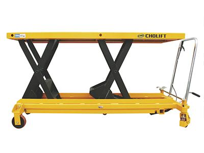 Horizontal Double Scissor Lift Table